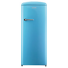 Buy Gorenje RB60299OBL Freestanding Fridge, A++ Energy Rating, Right-Hand Hinge, 60cm Wide, Baby Blue Online at johnlewis.com
