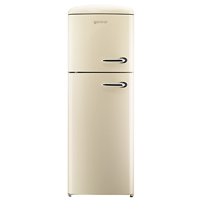 Gorenje RF60309OCL Freestanding Fridge Freezer A Energy Rating LeftHand Hinge 60cm Wide Cream