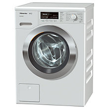 Buy Miele WKF 120 Freestanding Washing Machine, 8kg Load. A+++ Energy Rating, 1600rpm Spin, White Online at johnlewis.com