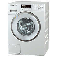 Buy Miele WMB 120 Freestanding Washing Machine, 8kg Load, A+++ Energy Rating, 1600rpm Spin, White Online at johnlewis.com