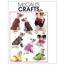 Buy McCall's Pet Clothes Sewing Pattern, 5998, One Size Online at johnlewis.com