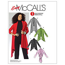 Buy McCall's Women's 3 Length Cardigans Sewing Pattern, 5241 Online at johnlewis.com