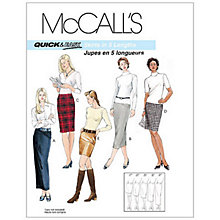 Buy McCall's Women's Pencil Skirt in 5 Lengths Sewing Pattern, 3830 Online at johnlewis.com