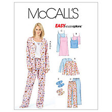 Buy McCall's Women's Complete Nightwear Set Sewing Pattern, 4979 Online at johnlewis.com