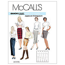 Buy McCall's Women's Five Length Skirts Sewing Pattern, 3830 Online at johnlewis.com