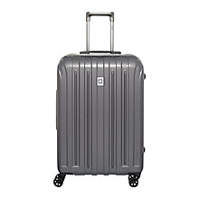 Buy Delsey Vavin Securite 4-Wheel 66cm Medium Suitcase, Graphite Online at johnlewis.com