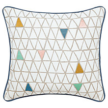 Buy Scion Ratia Cushion, White/Multi Online at johnlewis.com