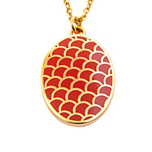 Buy Halcyon Days Enamel Salamander Pendant Online at johnlewis.com