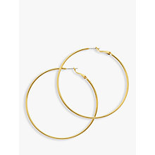 Buy Melissa Odabash Large Hoop Earrings Online at johnlewis.com