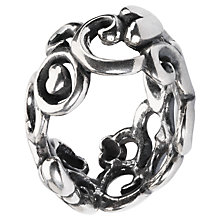 Buy Trollbeads Mother's Day Mother's Garden Sterling Silver Charm, Silver Online at johnlewis.com