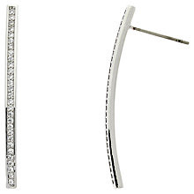 Buy Melissa Odabash Crystal Bar Earrings Online at johnlewis.com