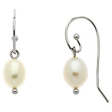Buy Finesse Freshwater Pearl Drop Earrings Online at johnlewis.com