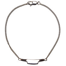 Buy Jessie Harris Chain Bracelet, Silver Online at johnlewis.com