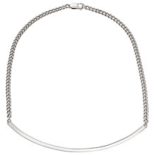 Buy Jessie Harris Statement Necklace, Silver Online at johnlewis.com