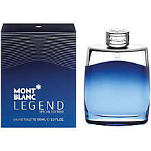 Buy Montblanc Legend Special Edition Eau de Toilette, 100ml Online at johnlewis.com