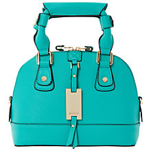Buy Dune Dinidotty Mini Grab Bag, Teal Online at johnlewis.com