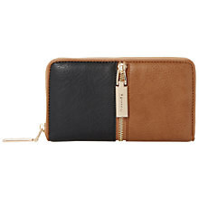 Buy Dune Kipzip Colour Block Purse, Tan Online at johnlewis.com