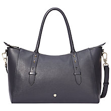 Buy Modalu Faye East West Leather Tote Bag Online at johnlewis.com