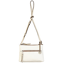 Buy Fiorelli Leah Double Across Body Bag, White Online at johnlewis.com