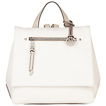 Buy Fiorelli Petra Backpack, White Online at johnlewis.com