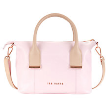 Buy Ted Baker Amelia Mini Tote, Baby Pink Online at johnlewis.com