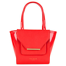 Buy Ted Baker Allira Crosshatch Small Shopper Bag Online at johnlewis.com