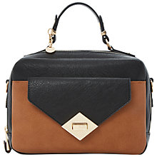 Buy Dune Davina Pocket Grab Bag, Tan Multi Online at johnlewis.com