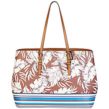 Buy Fiorelli Rita Large Tote Bag, St Tropez Print Online at johnlewis.com