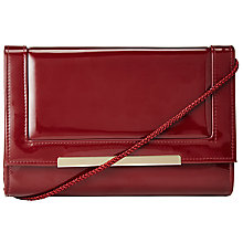 Buy John Lewis Patent Bar Clutch Bag Online at johnlewis.com