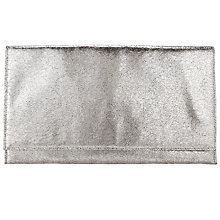 Buy John Lewis Crackle Metallic Clutch Online at johnlewis.com