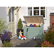 Buy Rowlinson Patio Garden Chest, Willow Online at johnlewis.com