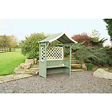 Buy Rowlinson Painted Barbeque Arbour Online at johnlewis.com