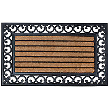 Buy Fallen Fruits Rubber and Coir Welcome Door Mat Online at johnlewis.com