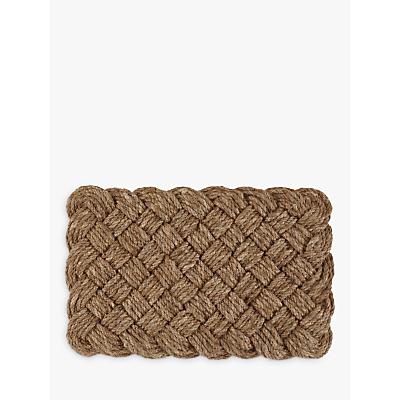 John Lewis Croft Collection Lovers Knot Doormat