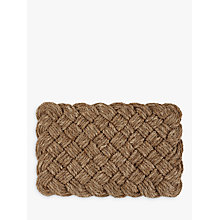 Buy John Lewis Croft Collection Lovers Knot Doormat Online at johnlewis.com