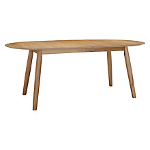 Buy John Lewis Enza 6-8 Seater Extending Table Online at johnlewis.com