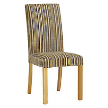 Buy Set of 6 John Lewis Orly Upholstered Chair, Lemon Stripe Online at johnlewis.com