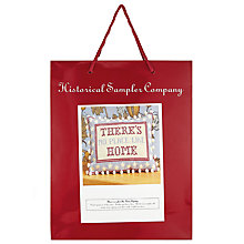 Buy The Historical Sampler Company There's No Place Like Home Tapestry Kit Online at johnlewis.com