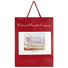 Buy The Historical Sampler Company Alphabet And Heart Tapestry Kit Online at johnlewis.com