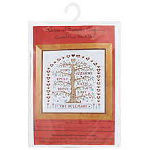 Buy Historical Sampler My Family Tree Needlecraft Kit, Multi Online at johnlewis.com
