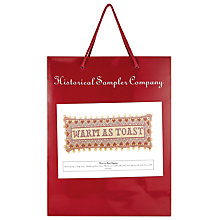 Buy Historical Sampler Warm As Toast Needlecraft Kit, Multi Online at johnlewis.com