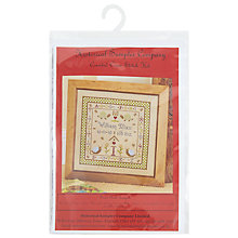 Buy The Historical Sampler Company Snail Birth Embroidery Kit, Multi Online at johnlewis.com