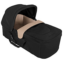 Buy Maclaren XLR Soft Carrycot, Black/Champagne Online at johnlewis.com