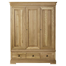 Buy Willis & Gambier Lyon Triple Wardrobe Online at johnlewis.com