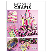 Buy McCall's Satchel, Circular Knitting Needle Organiser and Pouch Sewing Pattern, 5722, One Size Online at johnlewis.com