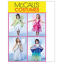 Buy McCall's Children's Fairy Costumes Sewing Pattern, 4887 Online at johnlewis.com