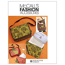 Buy McCall's Messenger Bag and Laptop Case Sewing Pattern, 5824, One Size Online at johnlewis.com