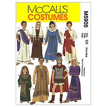 Buy McCall's Children's Roman Costumes Sewing Pattern, 5905 Online at johnlewis.com