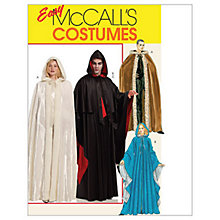 Buy McCall's Men's and Women's Full Length Cape Costume Sewing Pattern, 5957 Online at johnlewis.com