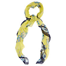 Buy Oasis Trailing Oriental Scarf, Multi Online at johnlewis.com